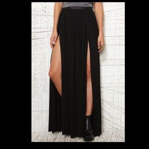 Ecote double split skirt from urban outfitters